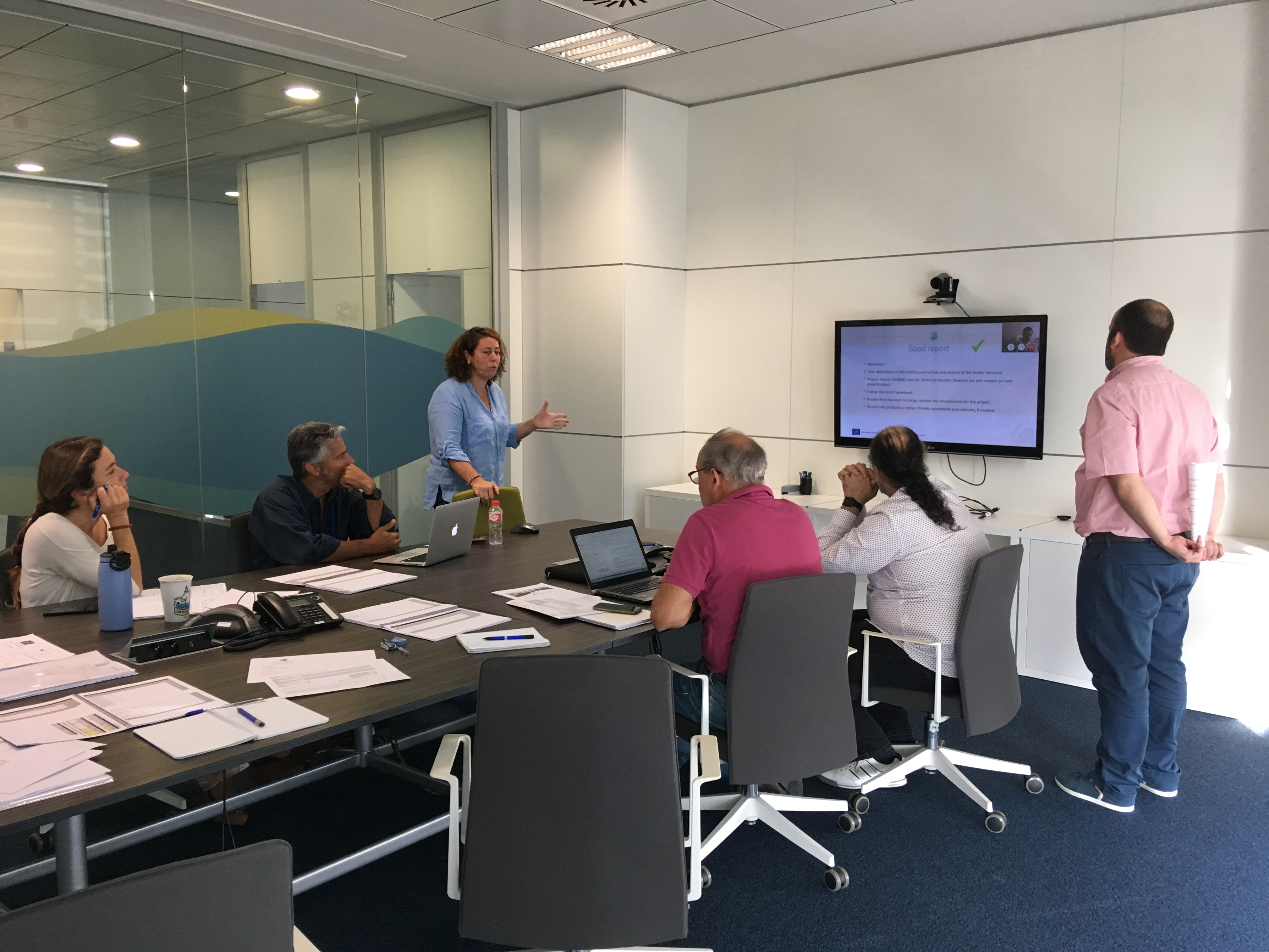 FIHAC premises – September 2019 – Kick of meeting